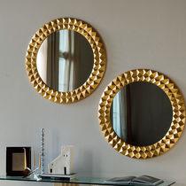 espejo de pared moderno rectangular de madera