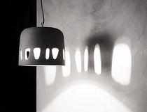 Lámpara suspendida / moderna / de hormigón / de interior