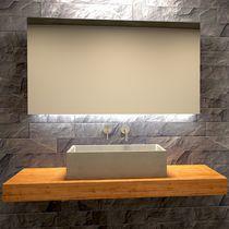 Lavabo sobre encimera / rectangular / de hormigón / moderno