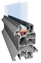 Perfil para puerta de aluminio