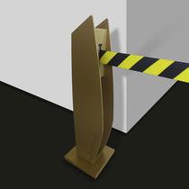 Barrera de control de acceso / autoportante / de metal / para edificio público