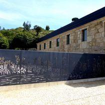 Valla de jardín / para zonas verdes / para espacio público / con paneles