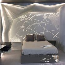 Panel decorativo de revestimiento / de construcción / de aluminio / de pared