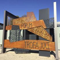Panel decorativo de metal / para exteriores / rígido / prefabricado