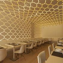 Panel decorativo de revestimiento / de aluminio / para interiores / para falso techo