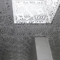 Panel decorativo de construcción / de aluminio / para falso techo / para techo