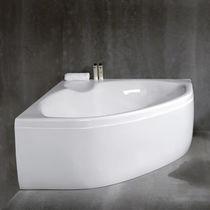 Bañera independiente / de esquina / de cerámica