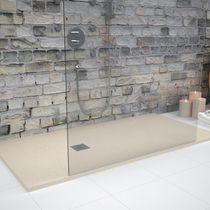 Plato de ducha rectangular / de cerámica