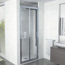 Cabina de ducha multiusos / de vidrio / de aluminio / de esquina