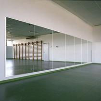 Espejo de pared / moderno / rectangular / para sala de danza