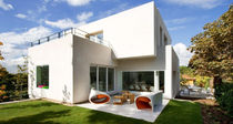 Casa individual / de hormigón / moderna / de 2 etapas