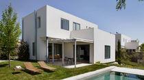 Casa individual / moderna / de hormigón / de 2 etapas