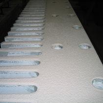 Junta de dilatación de resina / para la construcción de puentes / transitable