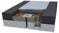 Junta de dilatación de elastómero / de acero / para la construcción de puentes