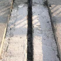 Junta de dilatación de polímero / de acero / para la construcción de puentes / monocelular