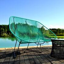 Sofá moderno / de jardín / para yate / para piscina