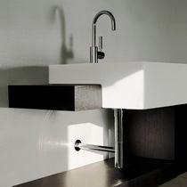 Lavabo de empotrar / rectangular / de cerámica / moderno