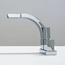 Grifo monomando para bidé / de metal cromado / de latón / para baño