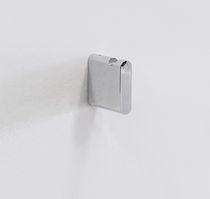 Percha moderna / de latón / de metal cromado / para baño