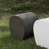 Puf moderno / de cemento / de jardín