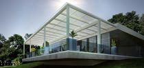 Celosía con lamas de aluminio / para techado / con lamas orientables