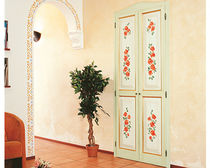 Puerta de interior / abatible / de madera / de MDF