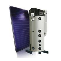 Depósito de agua caliente de gas / solar / de pie / vertical