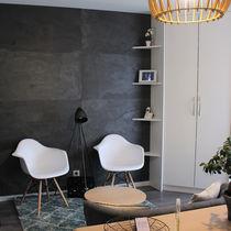 Revestimiento de pared de piedra natural / para uso residencial / profesional / liso