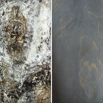 Panel decorativo de revestimiento / de piedra natural / de pared / para revestimiento interior