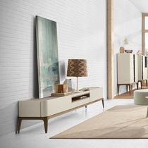 Mueble de televisión moderno / para habitación de hotel / de madera