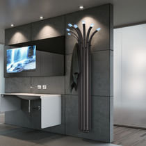 Radiador de agua caliente / de metal / de diseño original / vertical