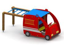 Vehículo para parque infantil