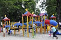 Estación de juego de madera / para parque infantil