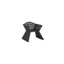 Silla moderna / con reposabrazos / de acero galvanizado / para espacio público