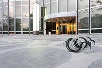 Aparcabicis de acero galvanizado / para espacio público