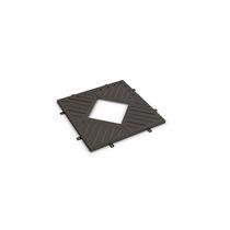 Cubrealcorques de acero galvanizado / cuadrado