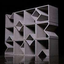 Estantería modular / moderna / de hormigón