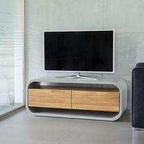 Mueble de televisión moderno / con altavoces de alta fidelidad / lowboards / para habitación de hotel