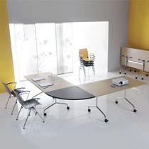 Mesa de conferencia / de diseño original / rectangular / redonda