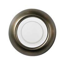 Regulador de intensidad luminosa con botón giratorio / de metal / clásico