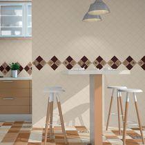 Baldosa de pared / para pavimento / de cerámica / con motivos
