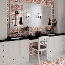 Baldosa de pared / para pavimento / de cerámica / barroco