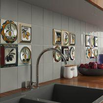 Baldosa para cocina / de pared / de cerámica / con motivos de cocina