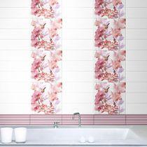 Baldosa para baño / de pared / de cerámica / de flores