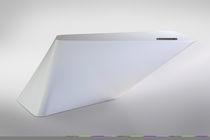 Mostrador de recepción de Corian® / con luz