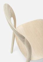 Silla moderna / de madera maciza