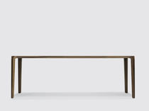 Mesa moderna / de madera maciza / rectangular