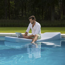 Chaise longue moderna / Sunbrella® / para jardín / para uso residencial