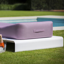 Chaise longue moderna / de aluminio / de interior / de jardín