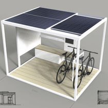 Estación de recarga para teléfono móvil / solar